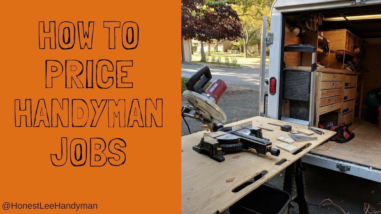 How To Price Handyman Jobs Video